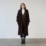 Wool duffel coat