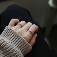 루아 Ring (silver925)