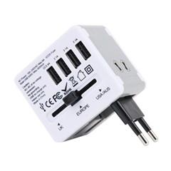 아이넷 JY-192 해외여행용 멀티아답터(3.5A USB 4포트)