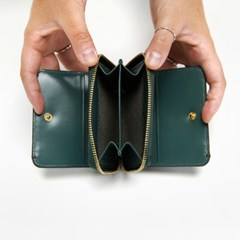 Ane MULTI WALLET(M)_BLUE-GREEN
