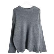 Basic normal knit (Gray)