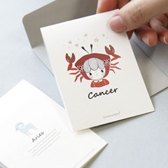 mini message card - 별자리 (13EA)