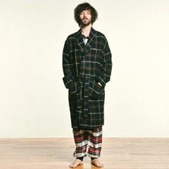 (M/W) Buffalo Robe Coat Flannel Hunting Stewart