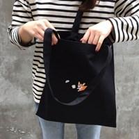 corgi cotton bag