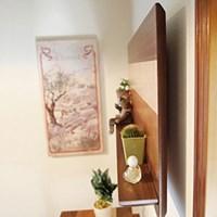 히토리 원목 벽선반