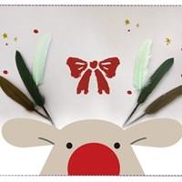 크리스마스 그린톤 깃털 50p