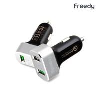 프리디 USB 3.0 차량용 고속 듀얼 충전기 KCC-423_(338092)