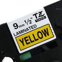 TZ-621(노란색바탕에 검정색글씨)