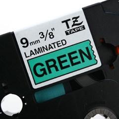 TZ-721(녹색바탕에 검정색글씨)