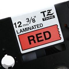 TZ-431(빨간색바탕에 검정색글씨)