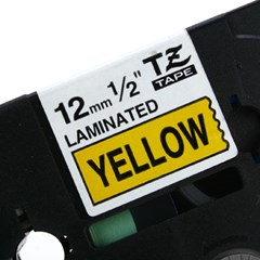 TZ-631(노란색바탕에 검정색글씨)