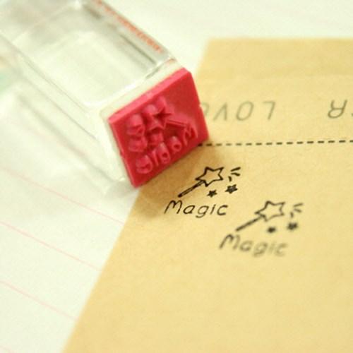 퍼니맨크리스탈스탬프 (165-magic)