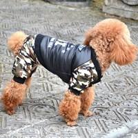 강아지 군복 (밀리터리)
