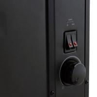 emk 스칸디나비아 디자인 컨벡션 히터 ECH-L200BK 매트블랙