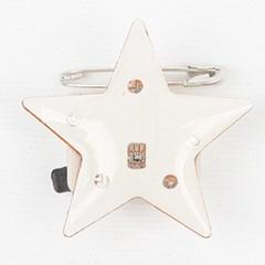 LED 플래시라이트 뱃지 (별)