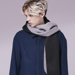 Wool Two-Color Muffler_ML028