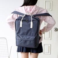 SQUARE Backpack - 인디고