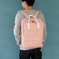 SQUARE Backpack - 인디핑크