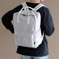 SQUARE Backpack - 라이트그레이