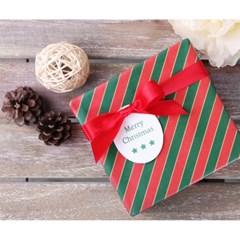 포장지 스트라이프 크리스마스 (1개)