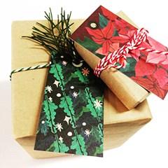 PP 기프트택 카드- 크리스마스 8종
