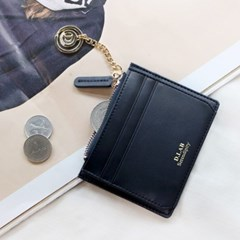 [★별자리 키링 증정] D.LAB Coin simple card wallet - Navy