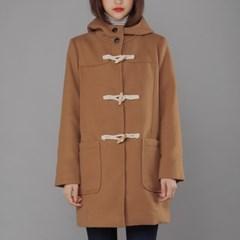 basic toggle hood Coat