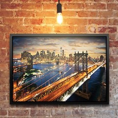 2000조각 미니퍼즐▶ 아름다운 맨하탄의 일몰 (PK20-3206)