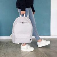 ROUND Backpack - 라이트그레이