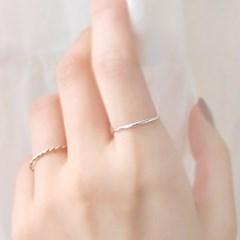 [하우즈쉬나우] The Course of Love, Silver Simple Ring (심플링)