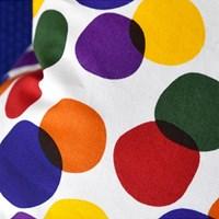 rainbow bubble cushion