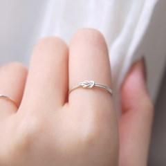 [하우즈쉬나우] The Course of Love, Silver Rope Ring (매듭링)