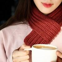 [1+1] Petit Knit Muffler