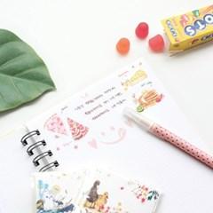 마넷 컷팅스티커 sampler - 파이&토끼