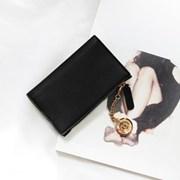 [★별자리 키링 증정] D.LAB Coin Card wallet - Black