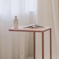 [라쏨] 사이드테이블 라벤더 핑크