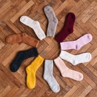 [1+1/울양말] Spun Sugar Angora Socks