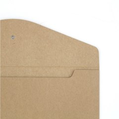 종이 단추 봉투 (가로형) - A4