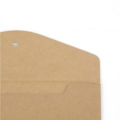 종이 단추 봉투 (가로형) - A5
