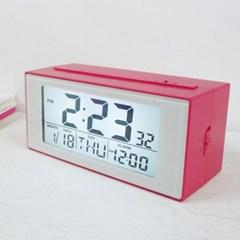빛센서디지털탁상시계(3COLOR)(스크래치)