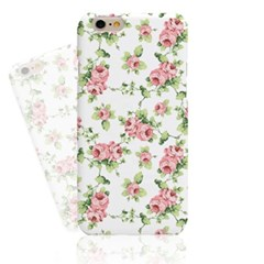 Pure Watercolor Rose Hard Case