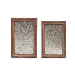 wood smog mirror(우드 스모그 미러)