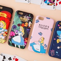 [Disney] Alice_Bumper Case-iphone 7