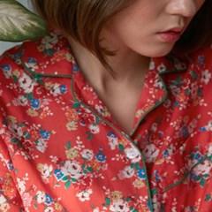 [w] Sunny Pajama Set Red