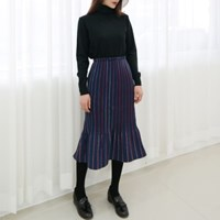 Wool mermaid skirt