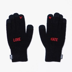 LOVE HATE SMART GLOVE (BLACK)
