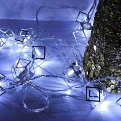 LED 20P 아이언 큐브 건전지(밧데리)전구 [2color]