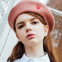 Heart Point beret (4colors)