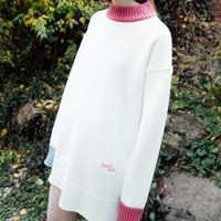 Heart Knit Dress (4colors)