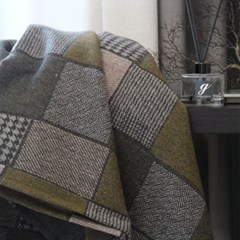 RB Check Wool Blanket_3color(RB 체크 울블랑켓)